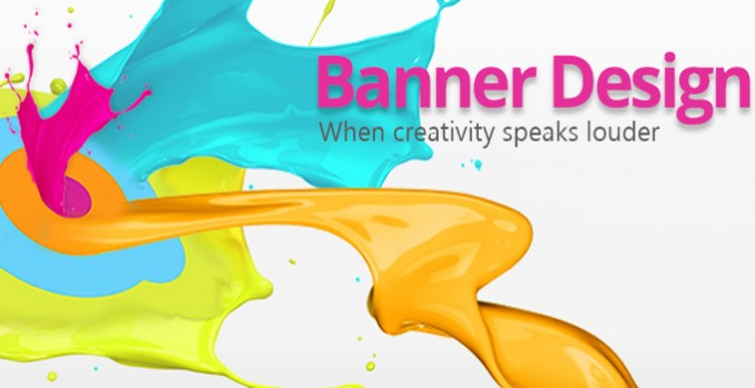 I will design creative banner